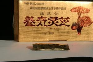 献上品!直井霊芝GY株・パワフル健康食品「養気霊芝純末」